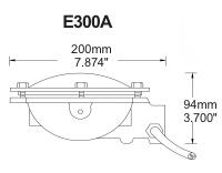 Pem E300a Low Profile Lightfixture Flood Pem E0300a F