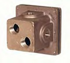 PEM J2-2 Junction Box (4x 1/2 Outlets)