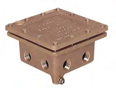 PEM J3 Junction Box (8x 1/2in. Outlets)