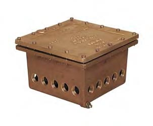 PEM J6 Junction Box (4x 1-1/2in. Outlets)
