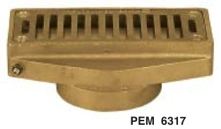 PEM 6317 Adjustable Wall Overflow (2in.)